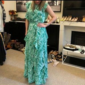 BCBG Kolline Maxi dress s Large.